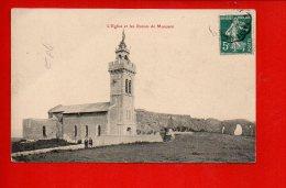 54 L'église Et Les Ruines De Mousson (pli Coin Gauche) - Pont A Mousson