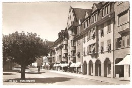 BRUGG   ---   Bahnhofplatz - AG Aargau