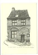 Mons ( Document Au Format CPM ) La Maison Godart ( Alain Colin ) - Mons