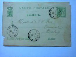 Carte Postale - 1886 - Wiltz - Wiltz