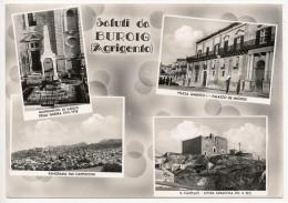 BURGIO (AG) SALUTI 1957 - Agrigento