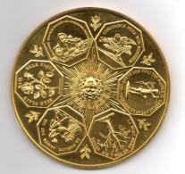 Superbe Grosse Médaille 1963 ( 360 Gr..10 Cm) En Bronze - Variétés Et Curiosités