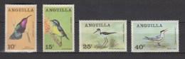 Anguilla 1968,4V,set,birds,vogels,vögel,oiseaux,pajaros,uccelli,aves,MNH/Postfris(A2543) - Zonder Classificatie