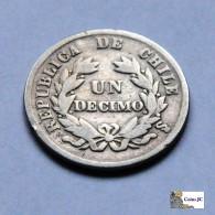 Chile - 1 Décimo - 1872 - Chile
