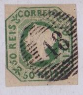 PORTUGAL - 1853 - D. MARIA II - AFINSA Nº 3 - (48) ANGRA - Oblitérés