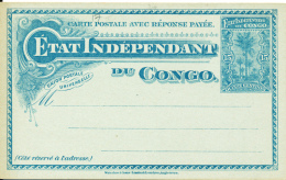 BELGIAN CONGO  PS STIBBE 17 UNUSED - Entiers Postaux
