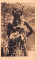 ¤¤  -   89   -   AFRIQUE OCCIDENTALE FRANCAISE   - Jeune Fille PEUHLE  -  Jeune Femme Aux Seins Nus    -   ¤¤ - Postcards