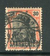 ALLEMAGNE- Sarre- Y&T N°39- Oblitéré - 1920-35 Saargebiet – Abstimmungsgebiet
