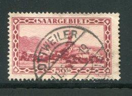 ALLEMAGNE- Sarre- Y&T N°113- Oblitéré (très Belle Oblitération) - Used Stamps