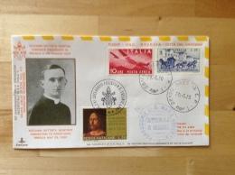 Vatikan - FDC Brief 1970 50. Priesterjubiläum Papst Paul VI - Flugpost - Posta Aerea Giovanni Batt. Montini - Storia Postale