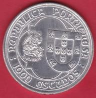 Portugal - 1000 Escudos Argent - 1995 - SUP - Portugal