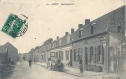 PAS DE CALAIS - 62 - 06 - 2016 - AVION - Rue Gambetta - Avion