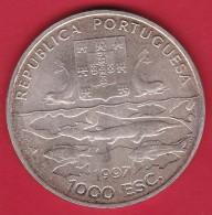 Portugal - 1000 Escudos Argent - 1997 - SUP - Portugal