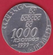 Portugal - 1000 Escudos Argent - 1999 - SUP - Portugal