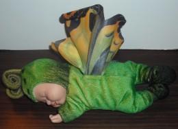 """Peluche Anne Geddes """"Papillon """"Vert"""" - Cuddly Toys"""