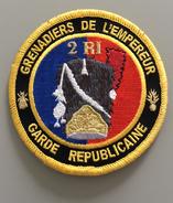 Écusson Gendarmerie De La Garde Républicaine 2 RI - Police & Gendarmerie