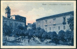 Cartolina Vasto   - Sottoprefettura E Ospedale - L'Aquila