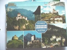 Liechtenstein Zwischen Sweiz Und Austria - Liechtenstein