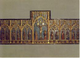 Geel   één Lot Vijf Kaarten Interieur St. Dimpnakerk - Geel