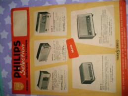 Publicite Philips Selection 1961 - Publicité