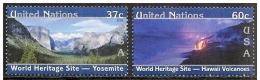 Nazioni Unite/Nations Unies/United Nations (N.Y.): Vulcano, Volcano, Volcan, Yosemite - Volcans