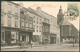 BAVAY - Rue De L'Eglise, Partant De La Place, Quartier Très Commerçant - France