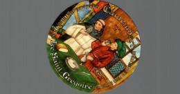ETIQUETTE CAMEMBERT LE SAINT GREGOIRE - Formaggio