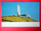Monument To Soviet Soldiers On The Zyisan Hill - Ulan Bator - 1976 - Mongolia - Unused - Mongolie
