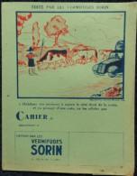 Protège-Cahier - Vermifuges SORIN - Produits Pharmaceutiques