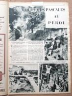 """Magazine Avec Article """"Coutumes Pascales Au Perou"""" 1954 - Vieux Papiers"""