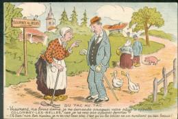 Carte Humoristique - Du Tac Au Tac ...  (Illustrateur Armanscol) - Colombey Les Belles