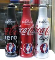 AC - COCA COLA EURO 2016 FRANCE UEFA ALUMINUM EMPTY BOTTLES & CAPS FROM TURKEY - Bottles