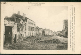 La Guerre En Lorraine - HARAUCOURT - Other Municipalities