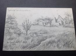 LOIVRE Zerschossne Ferm (dessin A. TAUCHERT) - France