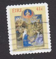 Ireland, Scott #1443, Used, Christmas, Issued 2002 - 1949-... Repubblica D'Irlanda