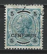 Österreichische Post Auf Kreta Mi 1A O Used - Crète