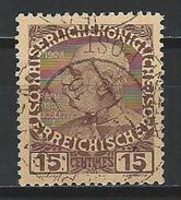 Österreichische Post Auf Kreta Mi 19 O Used - Crète