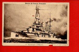 """Bateaux - Marine De Guerre Française - Le Cuirassé """"Lorraine"""" (état) - Guerre"""