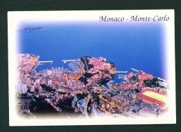 MONACO  -  Monte Carlo  Panorama  Used Postcard - Monte-Carlo