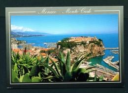 MONACO  -  Monte Carlo  Le Rocher  Used Postcard - Monte-Carlo