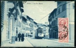 Cartolina   Pisa  -  Via S. Maria - Pisa