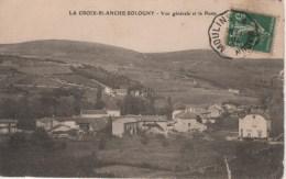 71-LA CROIX BLANCHE SOLOGNY-VUE GENERALE ET LA POSTE - Other Municipalities