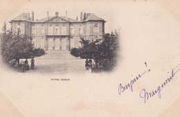 6s - 75 - Paris - Hôtel Biron - Musée Rodin - Cafés, Hôtels, Restaurants