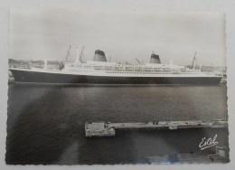 """CPSM Le Havre - Le """"France"""" (46792) NEUVE - Port"""