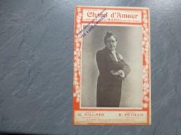 MAYOL, Chand D'amour, Folies-Bergère,  Partition Originale  ; Ref PAR 02 - Scores & Partitions