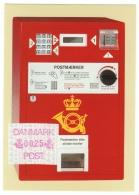 Danemark // Carte Avec Timbre Pour Automate (ATM) - Vignettes D'affranchissement (ATM/Frama)