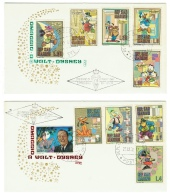 Disney // 2 Lettres De San Marino - Disney