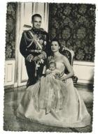 Célébrités // Famille Royale // Prince Rainier III, La Princesse Et La Princesse Caroline - Familles Royales