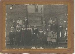 CHARNEUX : SUPERBE Photo Ecole - JUILLET 1919 - Dimensions 19,5 / 14,2 CM - Herve
