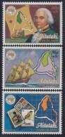 COOK ISLAND 1984 - Yvert #408/10 - MNH ** - Aitutaki